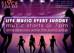 Slyce Pizza Bar Live Music Sundays