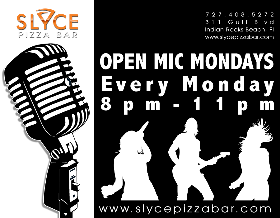 Slyce Pizza Bar Open Mic Night